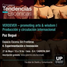 VERDEVER at the Performing Arts Congress (Buenos Aires)