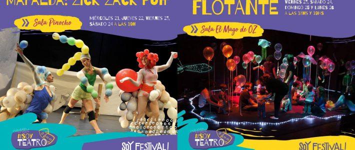 Flotante y Zick Zack Puff en el SOY FESTIVAL!